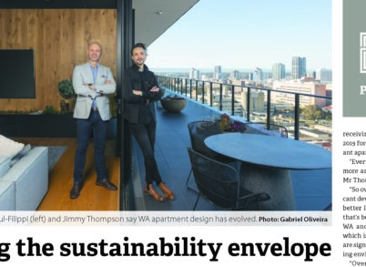 Pushing the sustainability envelope
